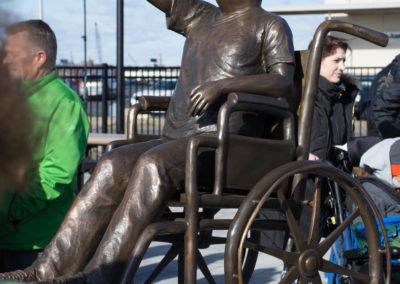 Noah Playground boy Statue