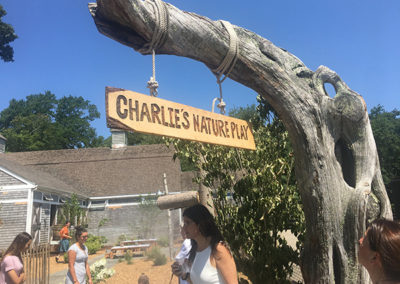 Charlie's Nature Play Sign