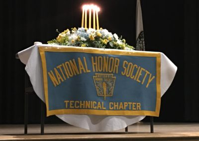 national honor society table