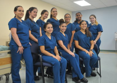 Nursing Assisting group photo 12-2