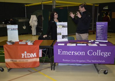 Advisors At FIDM & Emerson College Booths