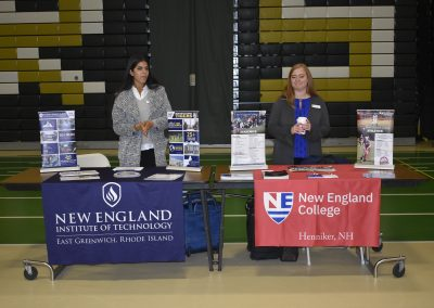 Advisors At New England Institute Of Technology & New England College Booths