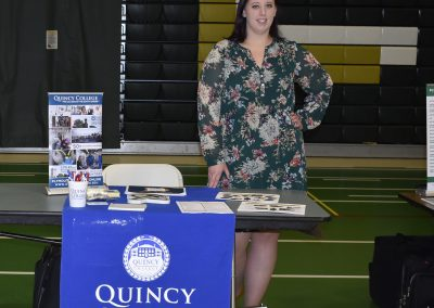 Advisor At Quincy College Booth
