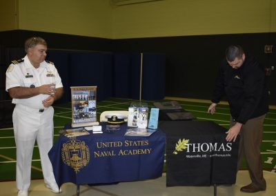 Advisors At United States Naval Academy & Thomas Booths