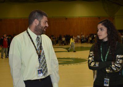 Mr. Silva Advising A Student