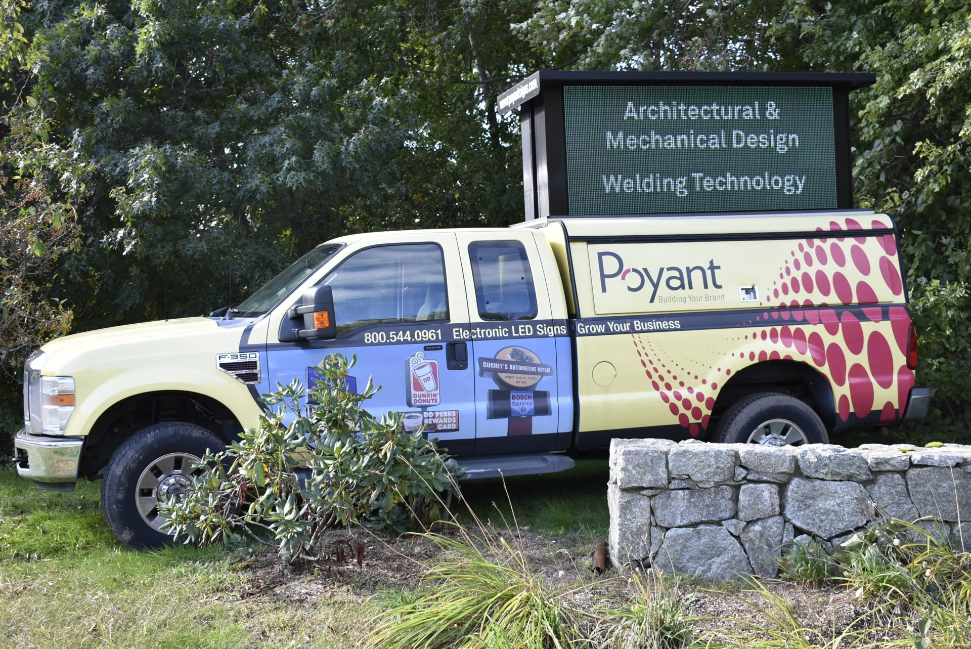 Poyant Truck Welcoming Students