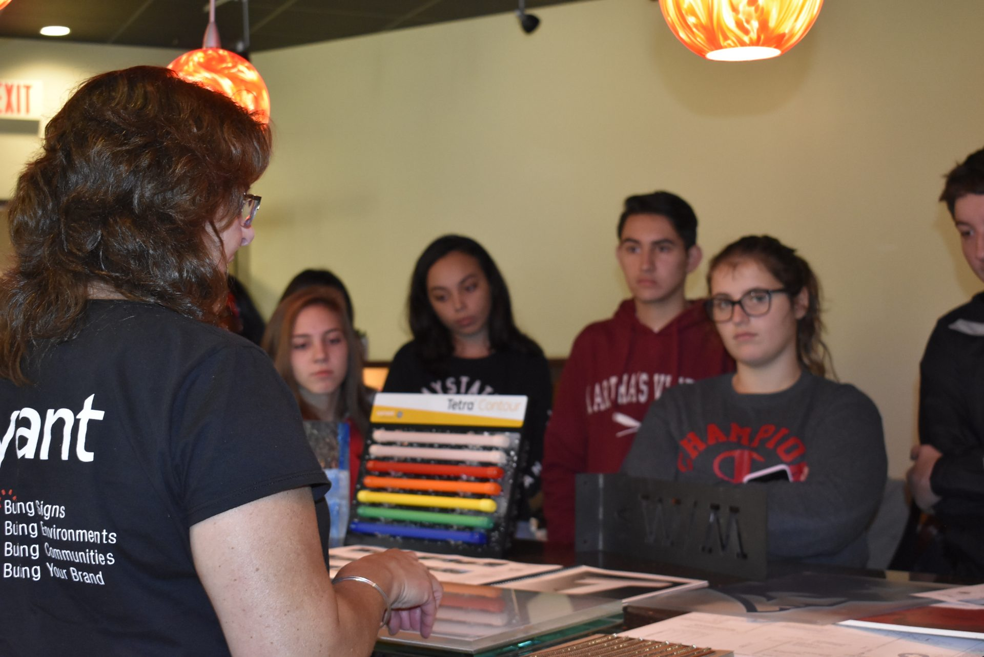 Architectural Design Students Listening to Presenter