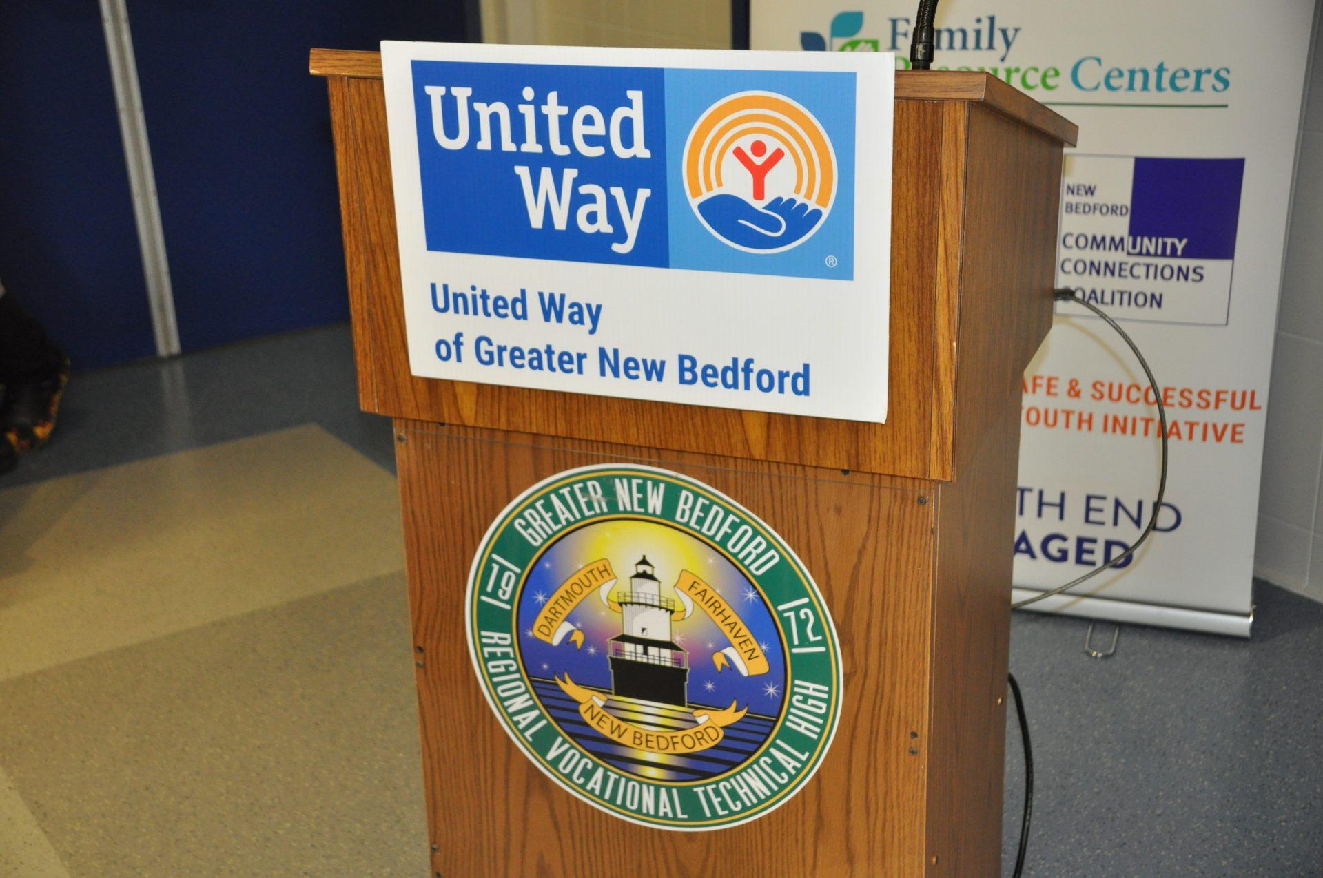 united way gnbvt podium