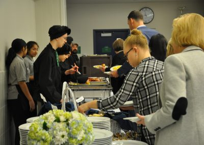 students serving food 1