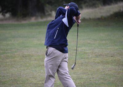 student swinging