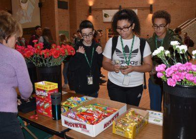 Buying candy (three shot)