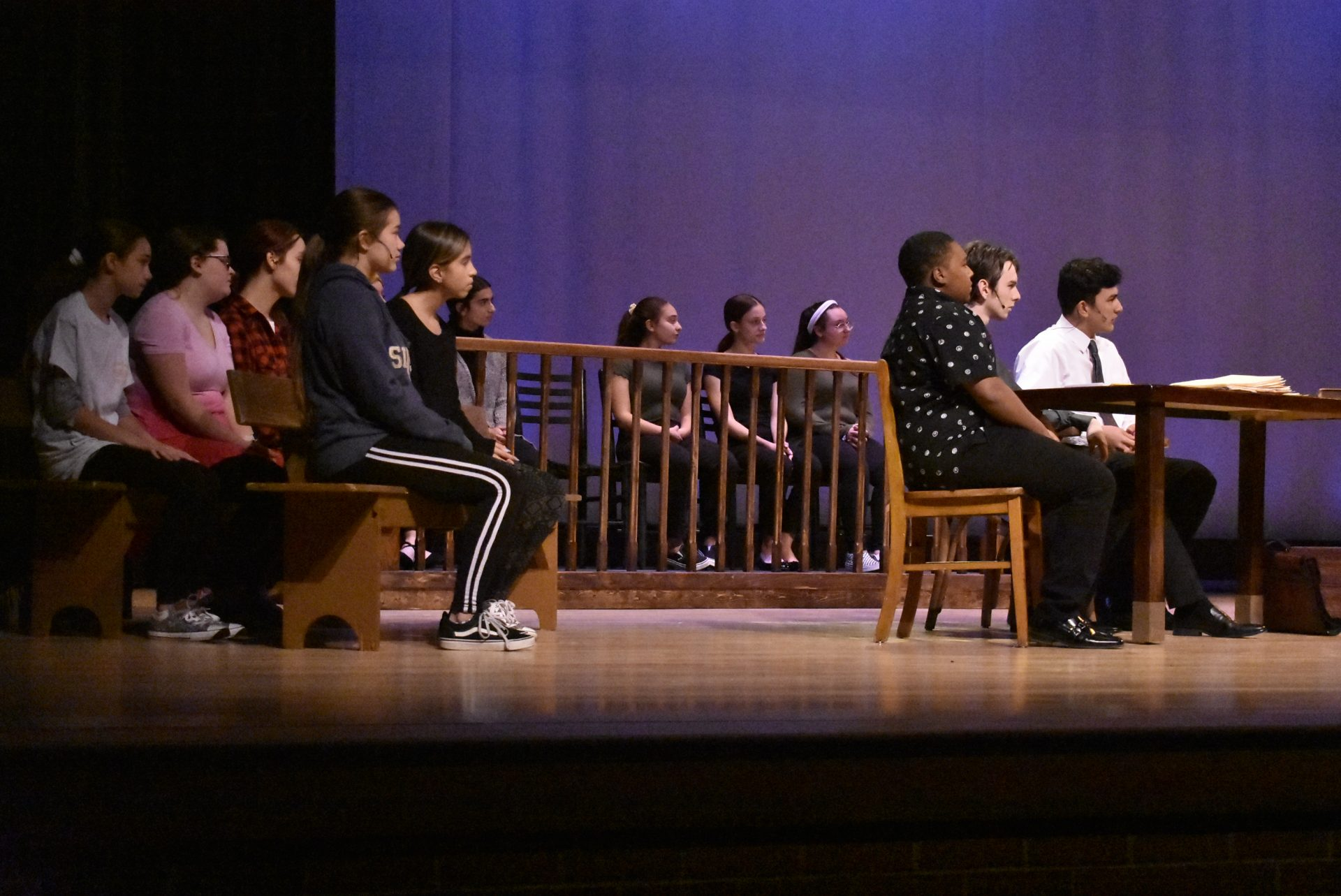 VTTC Actors on Stage (wide shot of many actors)