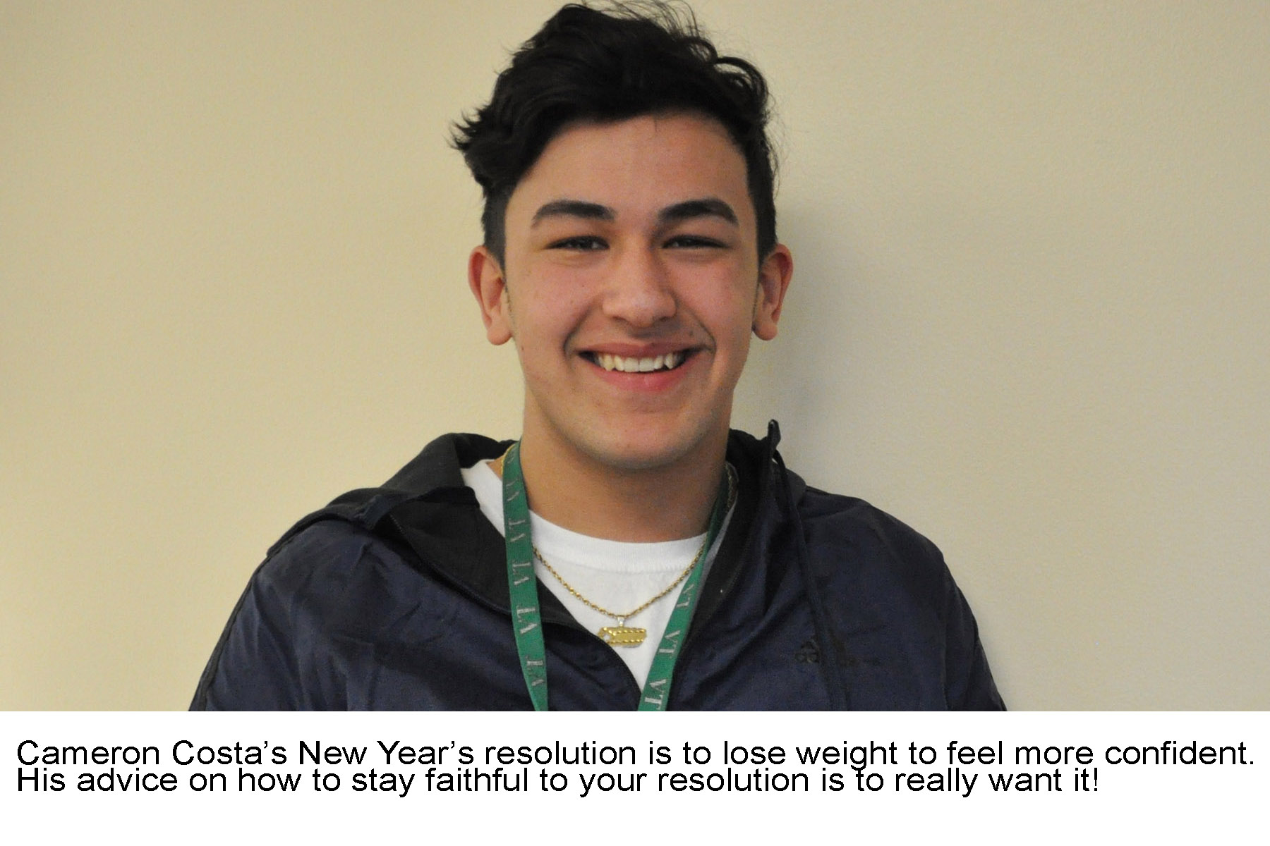 Cameron Costas New Years Resolutions