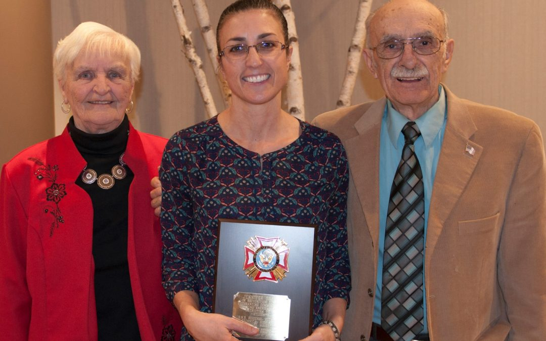 GNBVT Teacher Honored