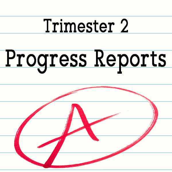 Trimester 2 Progress Grades