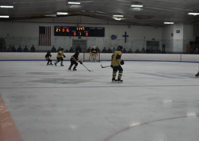 opponent with puck