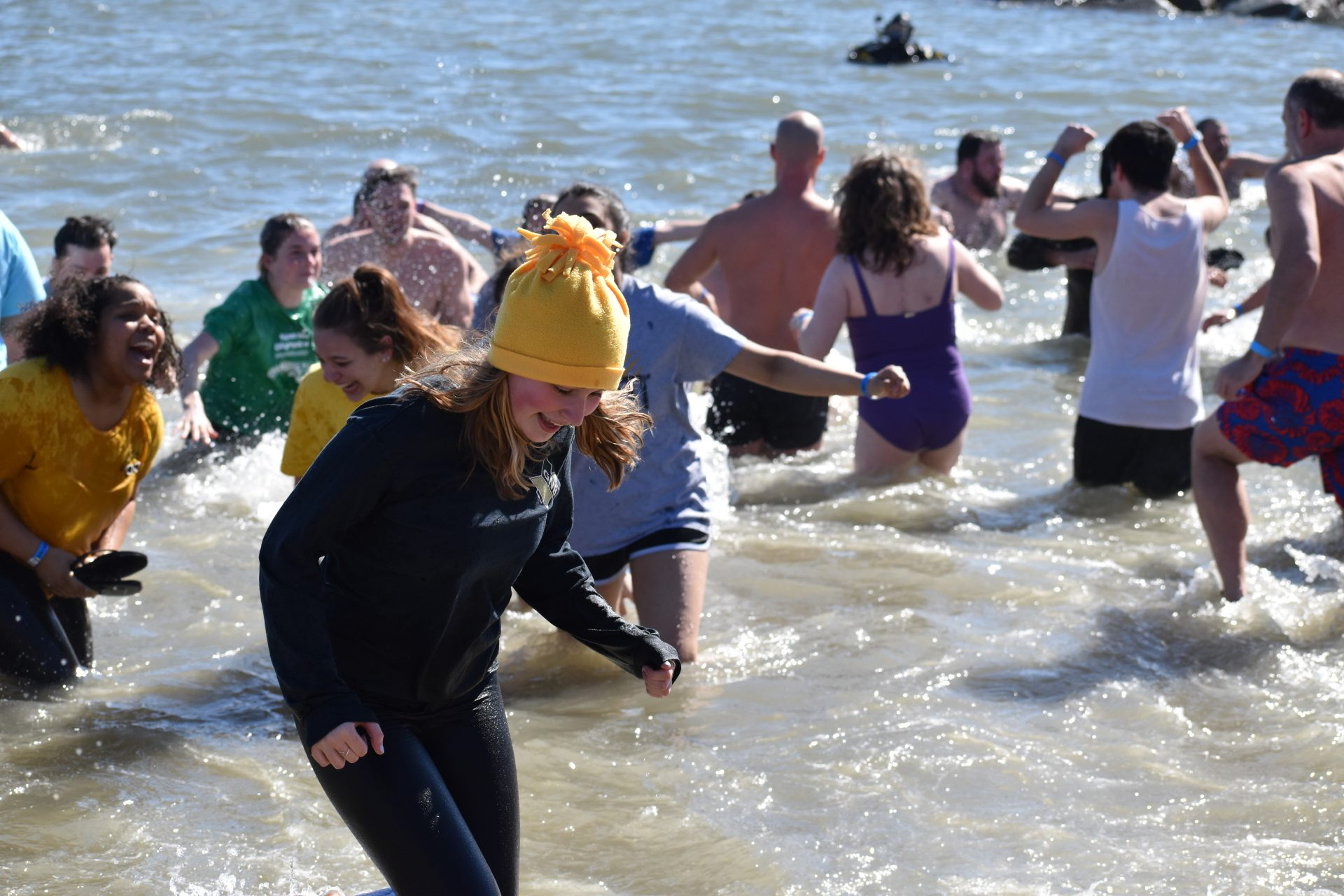 Moments During The Polar Plunge