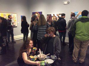 Teen Artist Internship exhibit