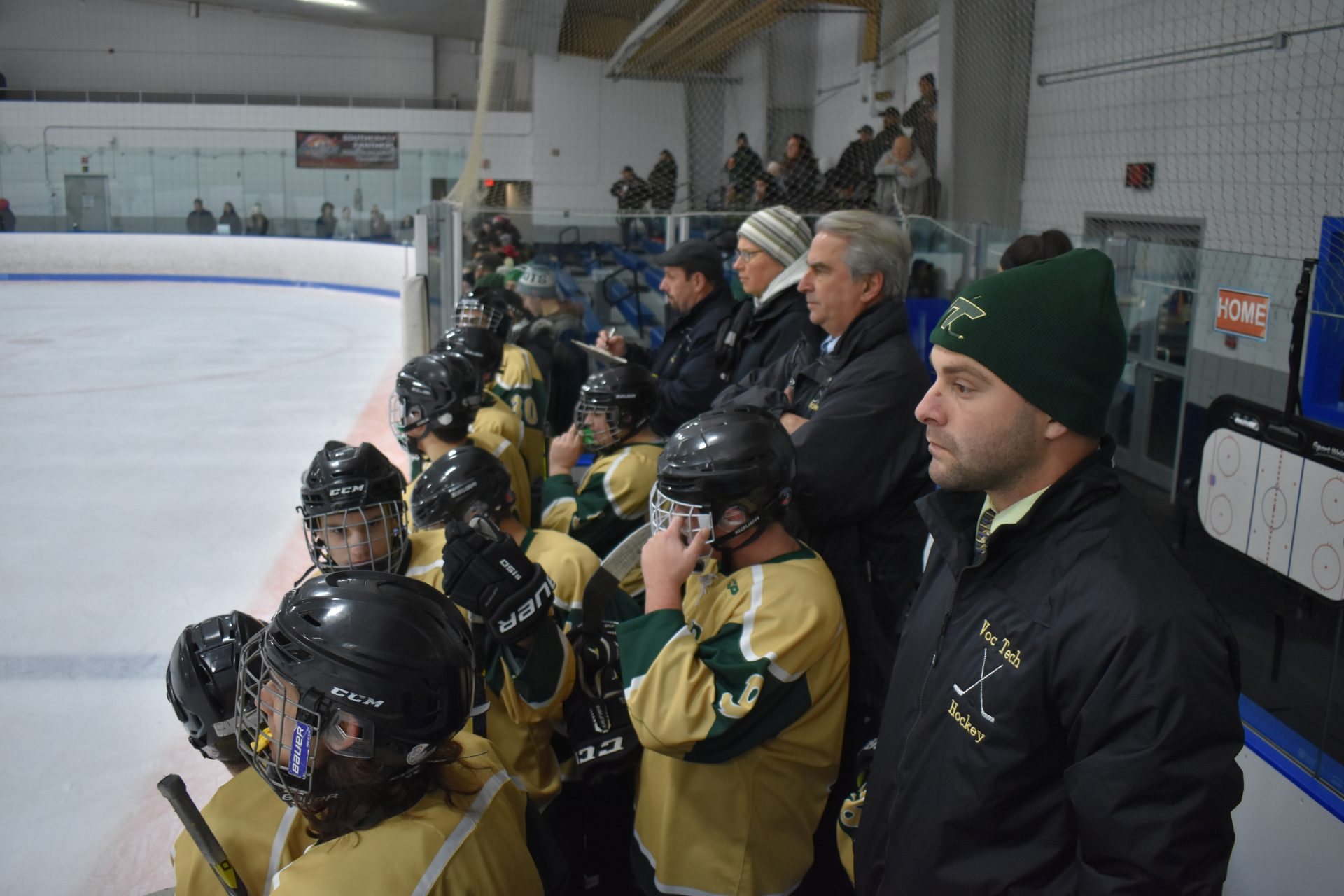 gnbvt hockey team bench