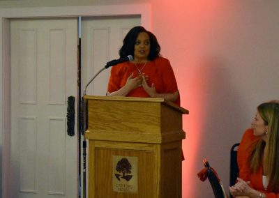 Guest Speaker of Red Dress Event