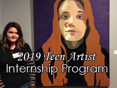 2019 Teen Artist Internship Program