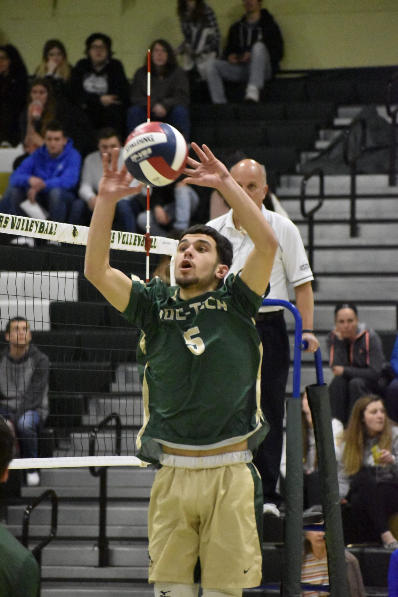 Ryan R Assist during vollyball