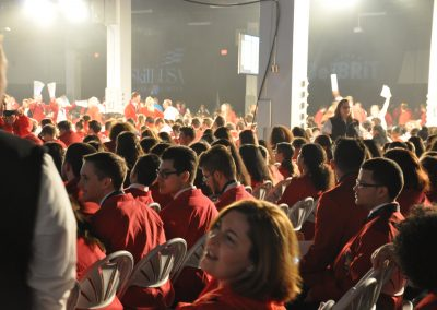SkillsUSA competitors during the awards ceremony