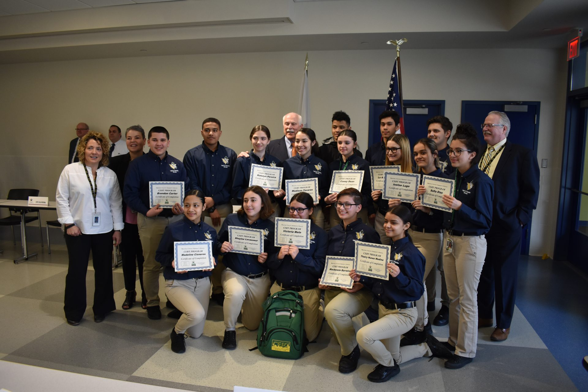 Legal and Protective Services CERT Certification Ceremony