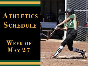 Athletics Week of May 27