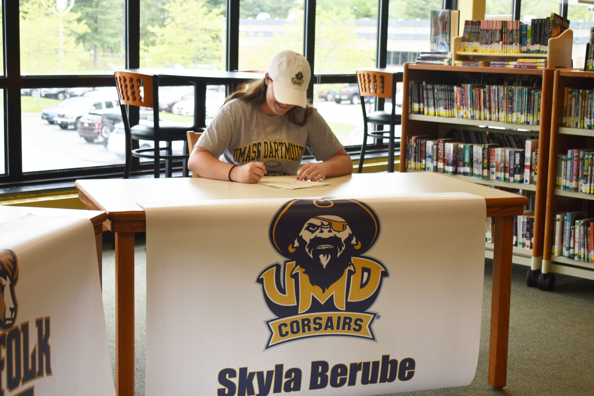 Skyla Berube Athletic Signing 4