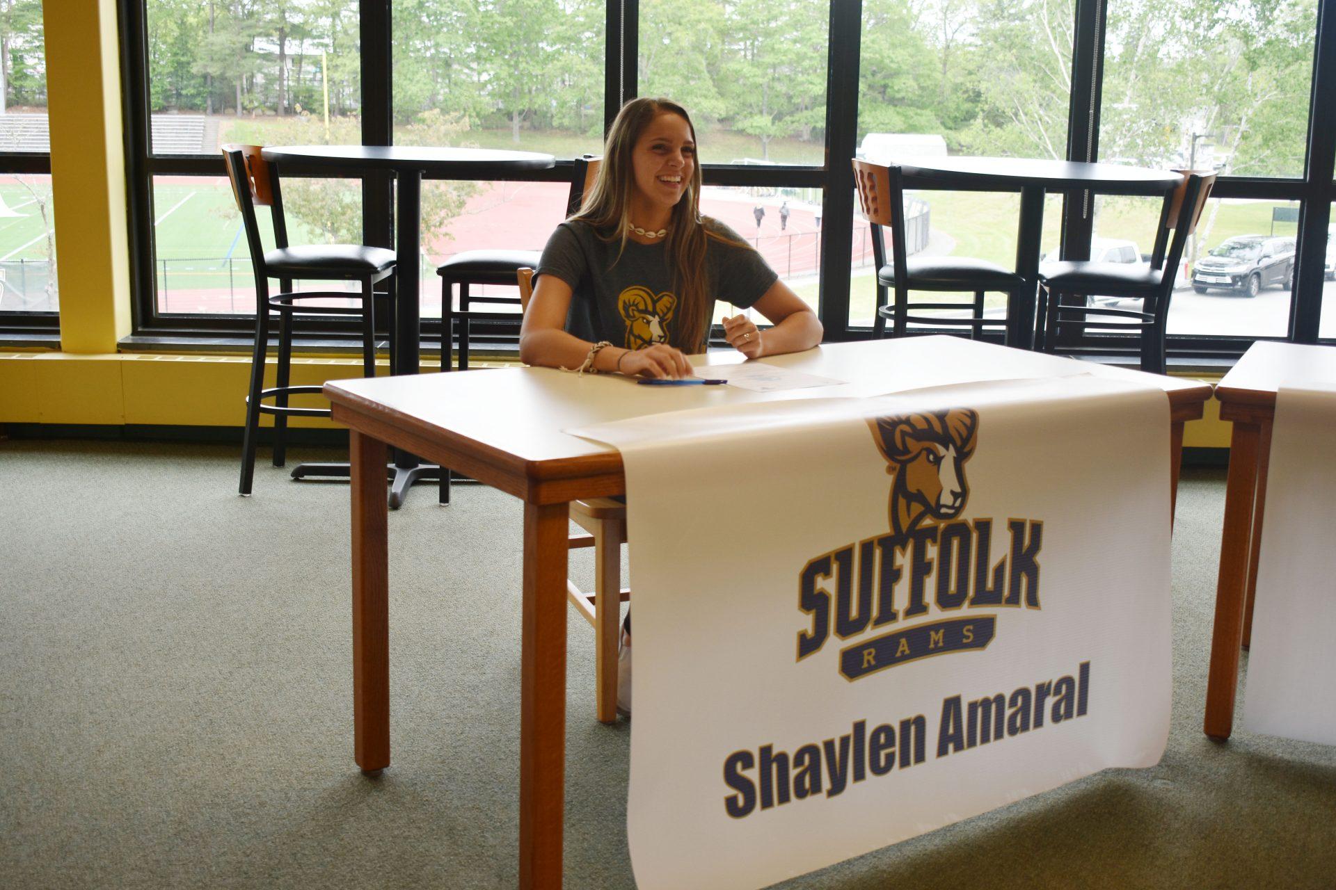 Shaylen Amaral Athletic Signing