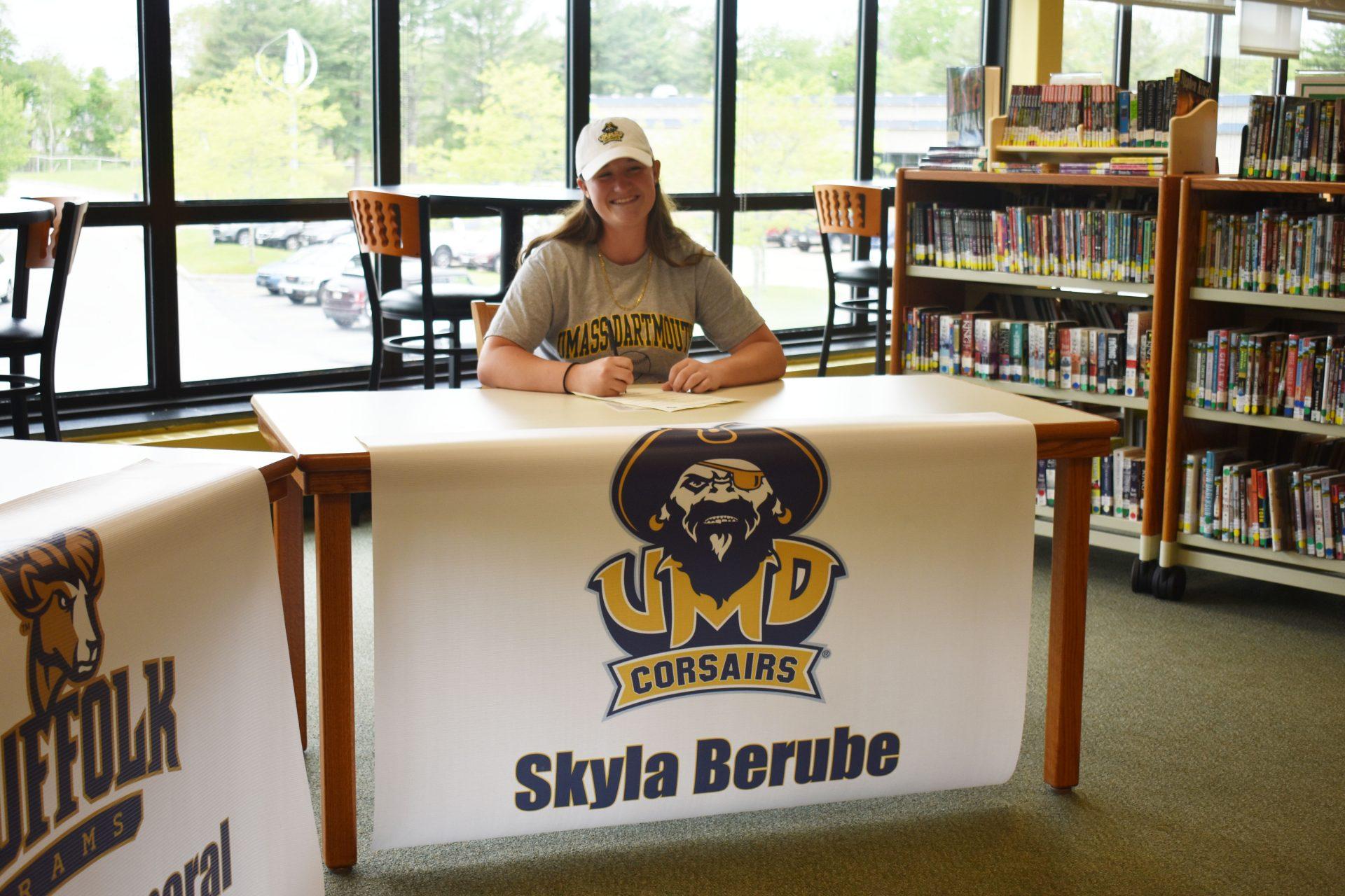 Skyla Berube Athletic Signing 2