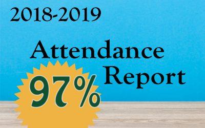2018/2019 Attendance Report