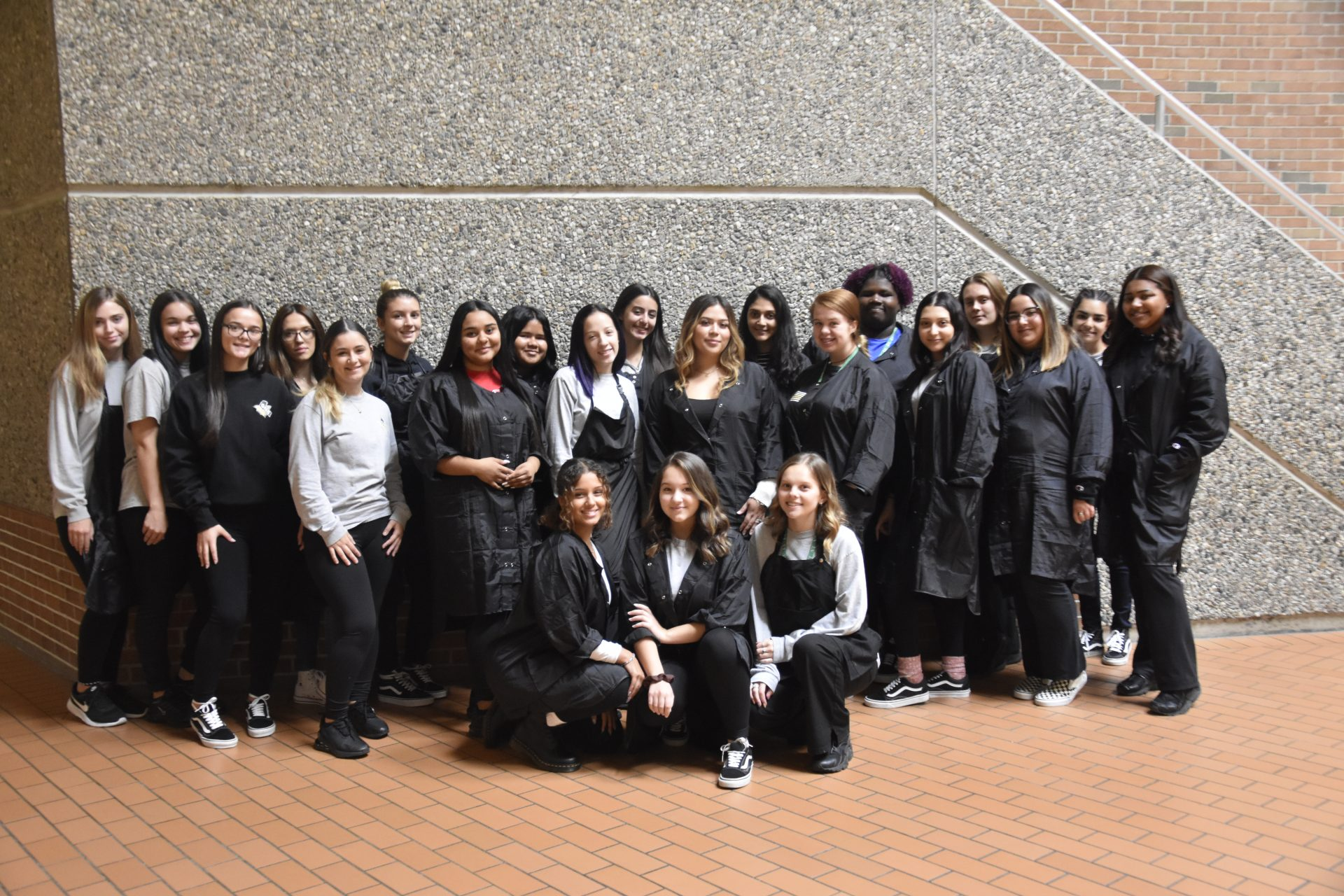 Senior class photo Cosmetology
