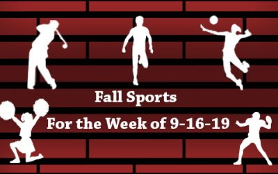 Fall Sports Week of 9/16