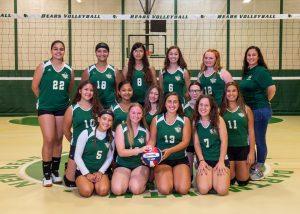 GNBVT 2019 Freshman girls volleyball team