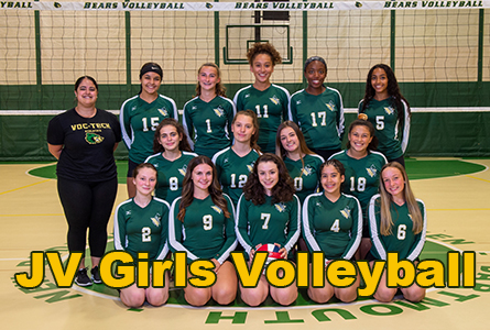 JV Girls Volleyball Featured Image