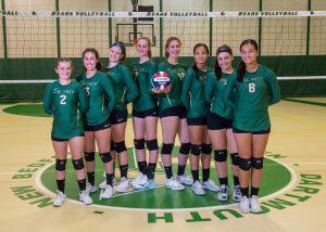 GNBVT 2019 Varsity girls volleyball team photo