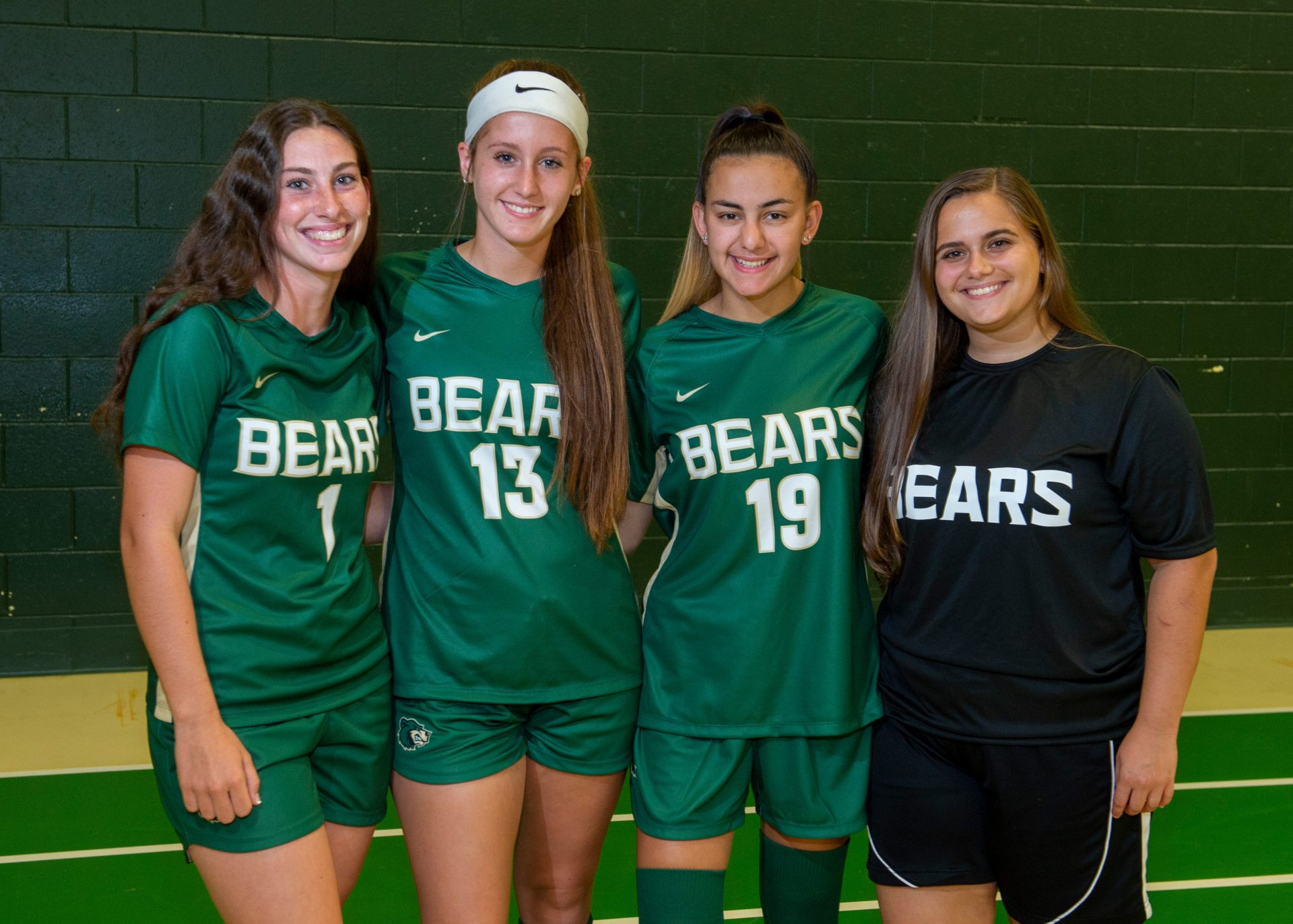 VAR girls soccer Capts-2019