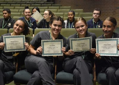 Dental Assisting Smile with Awards