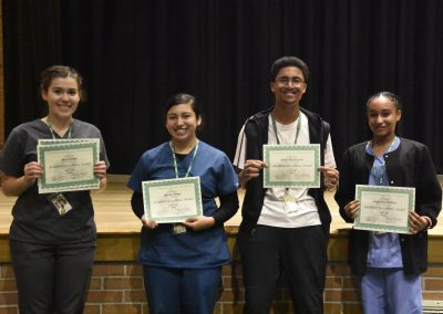 Students with Academic Excellence Award