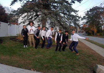 Homecoming big group photo