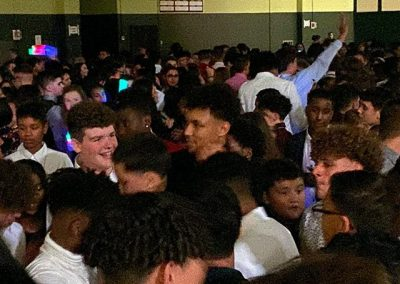 Homecoming Wide Shot in Gym