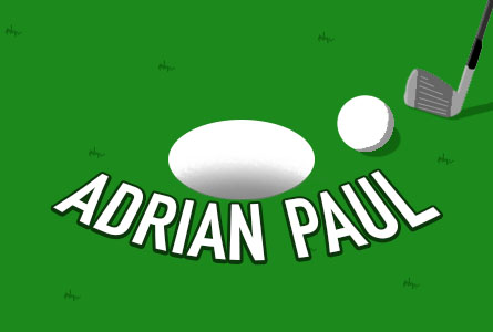 Adrian Paul Golf feature image