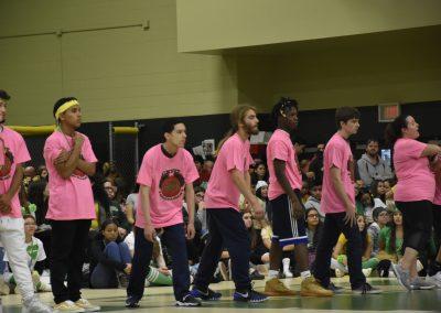 WS Seniors dodgeball