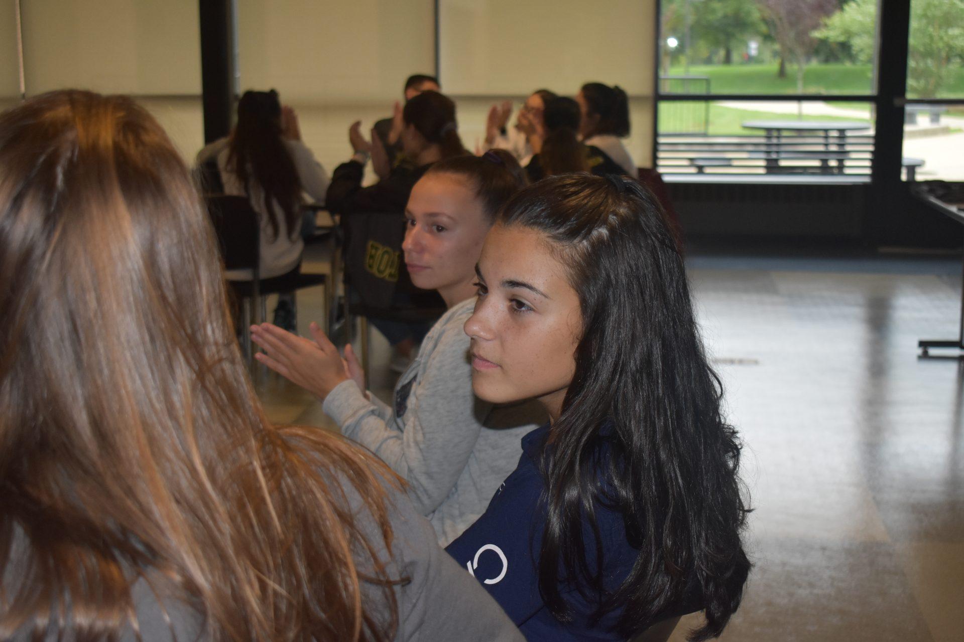 Mentors discussing