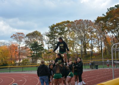 WS Cheerleaders Practice