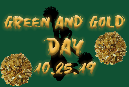 Feature image for green and gold day