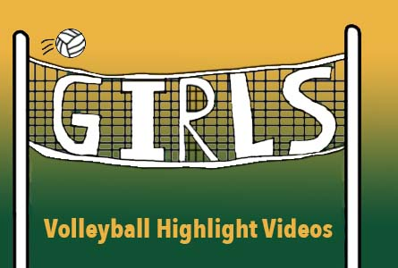 Featured image for the girls Volleyball highlight videos