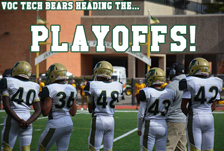 GNBVT Football team heading to the Playoffs